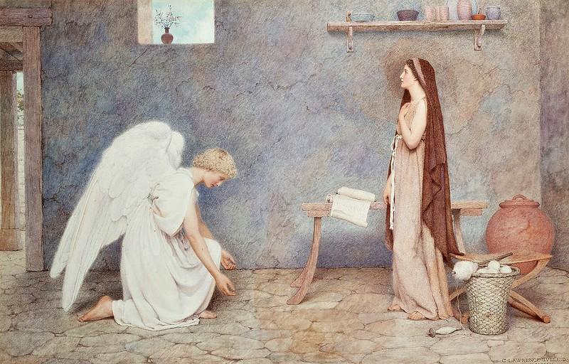 George Lawrence Bulleid - Annunciazione (1903)