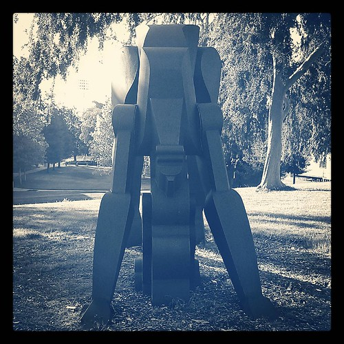 #dvc #statue #publicart #blackandwhite #tinted