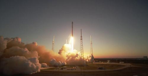 DSCOVR Liftoff