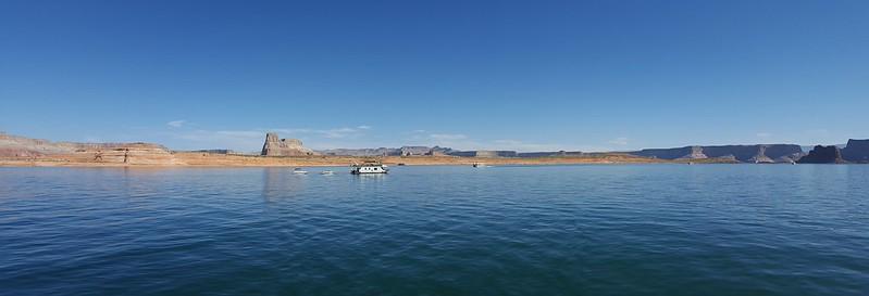Beautiful Lake Powell in the Glen Canyon NRA