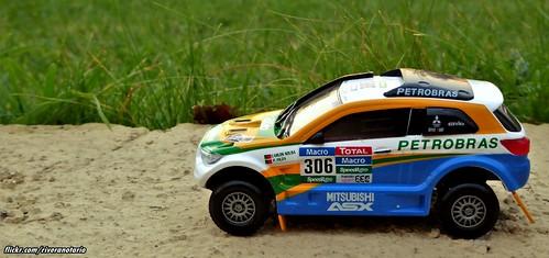 Ixo 1:43 Mitsubishi ASX Dakar 2015 | Colección Dakar