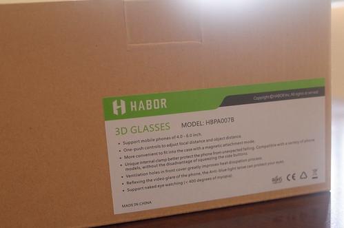 Habor 3D VR glasses box