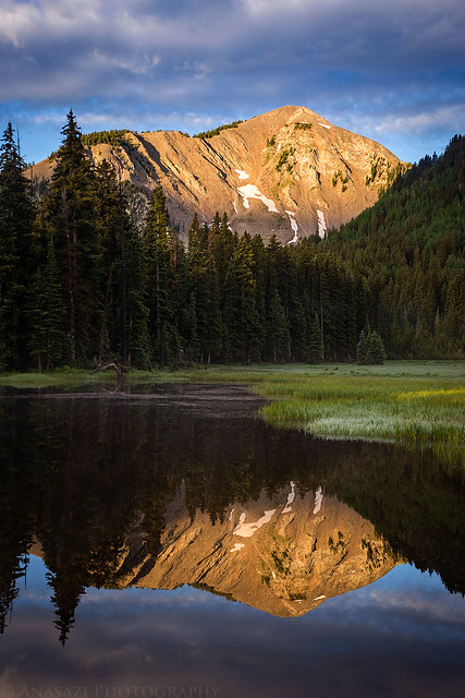 Medicine Lake Reflection
