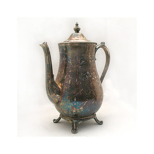 Vintage Silver Plated Coffee Tea Pot Holloware Home