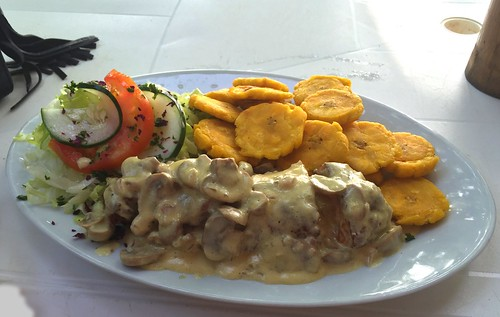 Chicken Cordon Bleu - Sosua Beach