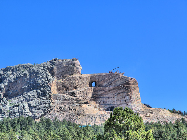 Crazy Horse Monument HDR 20160617