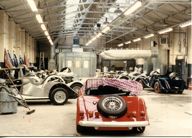1986 Morgan Factory Visit