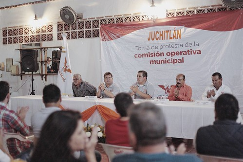 16 Junio 2016. Toma de protesta comisión operativa municipal Juchitlán