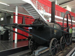 Trevethick replica at National Waterfront Museum, Swansea