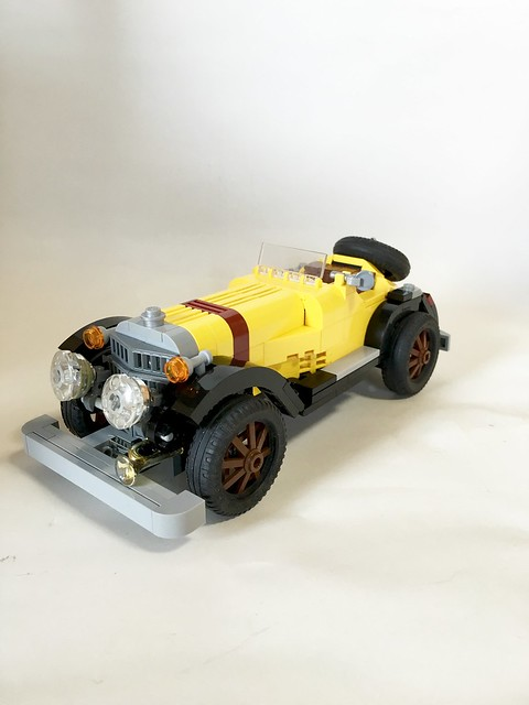 "Mercedes-Benz SSK ""LUPIN the Third"" LEGO"