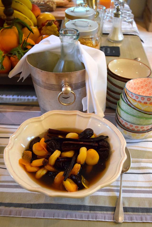 Breakfast Compote with Manoir de Malagorse | www.rachelphipps.com @rachelphipps