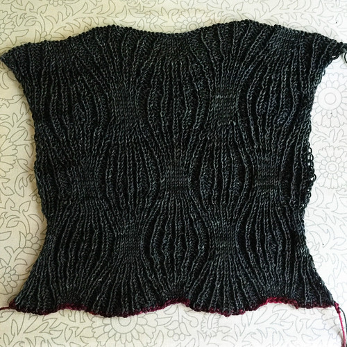 Lazy Ribbing Swatch