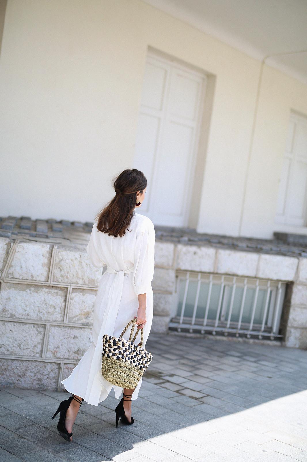 jessie chanes seams for a desire zara vestido lino capazo rafia-8