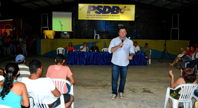Definida a pré-candidatura à reeleição do prefeito de Óbidos, pelo PSDB