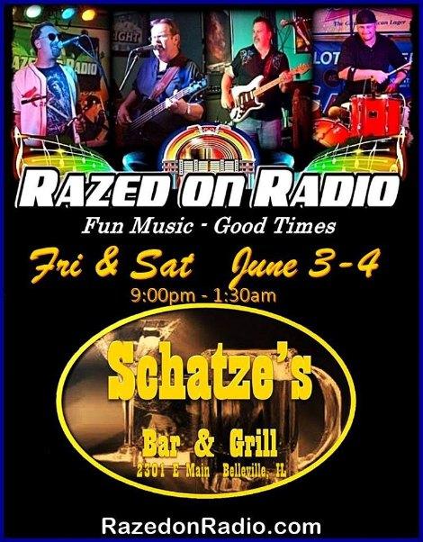 Razed On Radio 6-3, 6-4-16