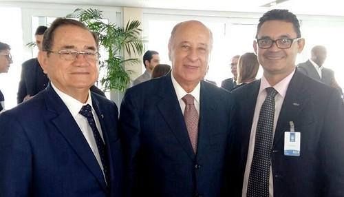 Coronel Nunes, Del Nero e Reginaldo Campos