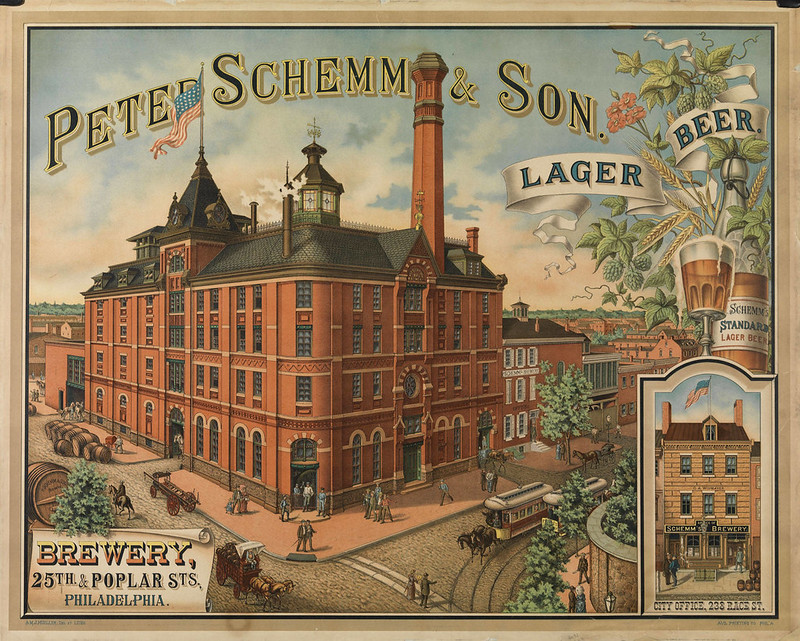 Peter-Schemm-Brewery-Litho