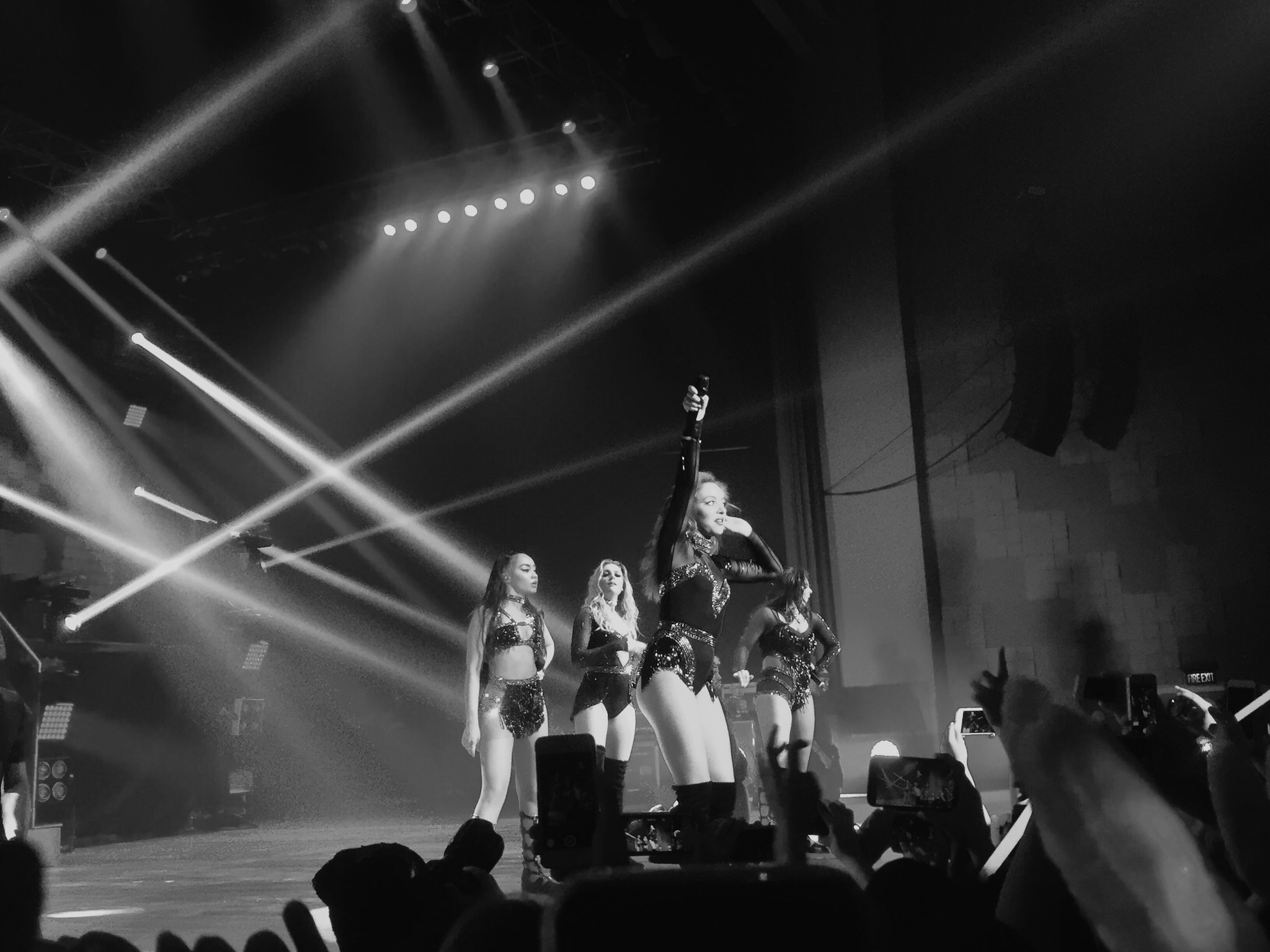 Little Mix in Manila