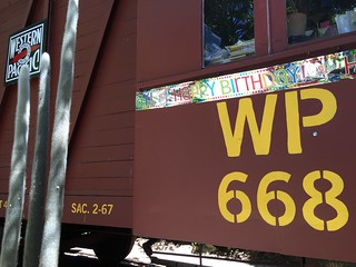 WP668 Caboose 100th Birthday Party 25 June 2016