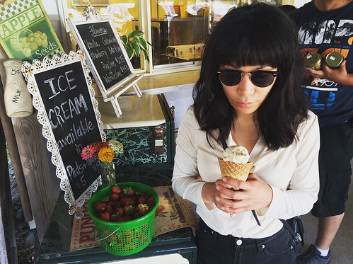 Ice Cream at Cullipher Farm Market (May 25 2015)