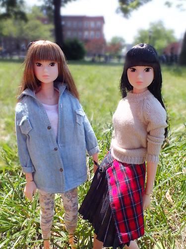 Summer and Rachel