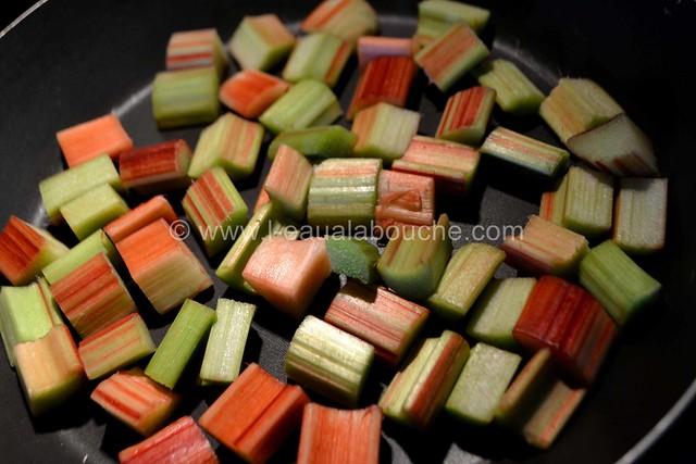 Tarte à la Rhubarbe au Fromage Blanc & Coco © Ana Luthi Tous droits réservés 05