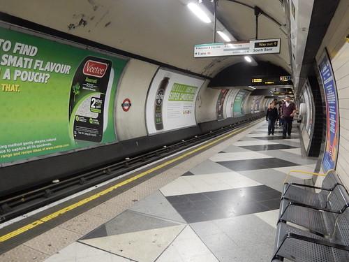 Northern Line, Waterloo Underground Station, London (2)