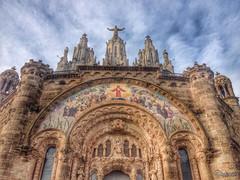 Temple Expiatori del Sagrat Cor. Tibidabo.Barcelona. Spain