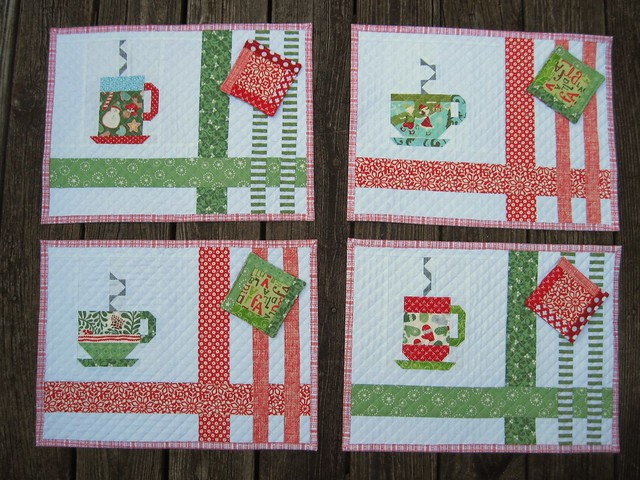 In From the Cold Placemats-complete set