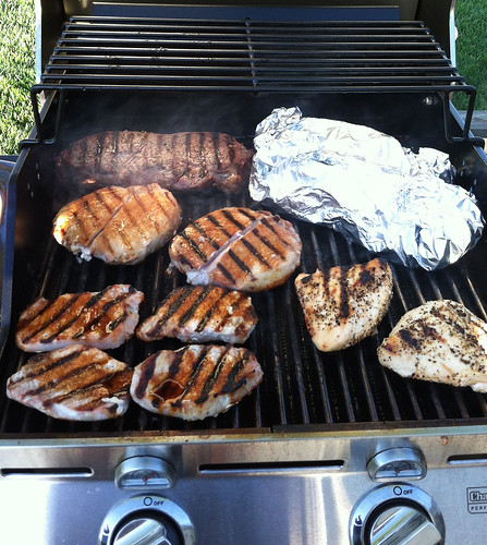 Grilled meat | by Oregon State University