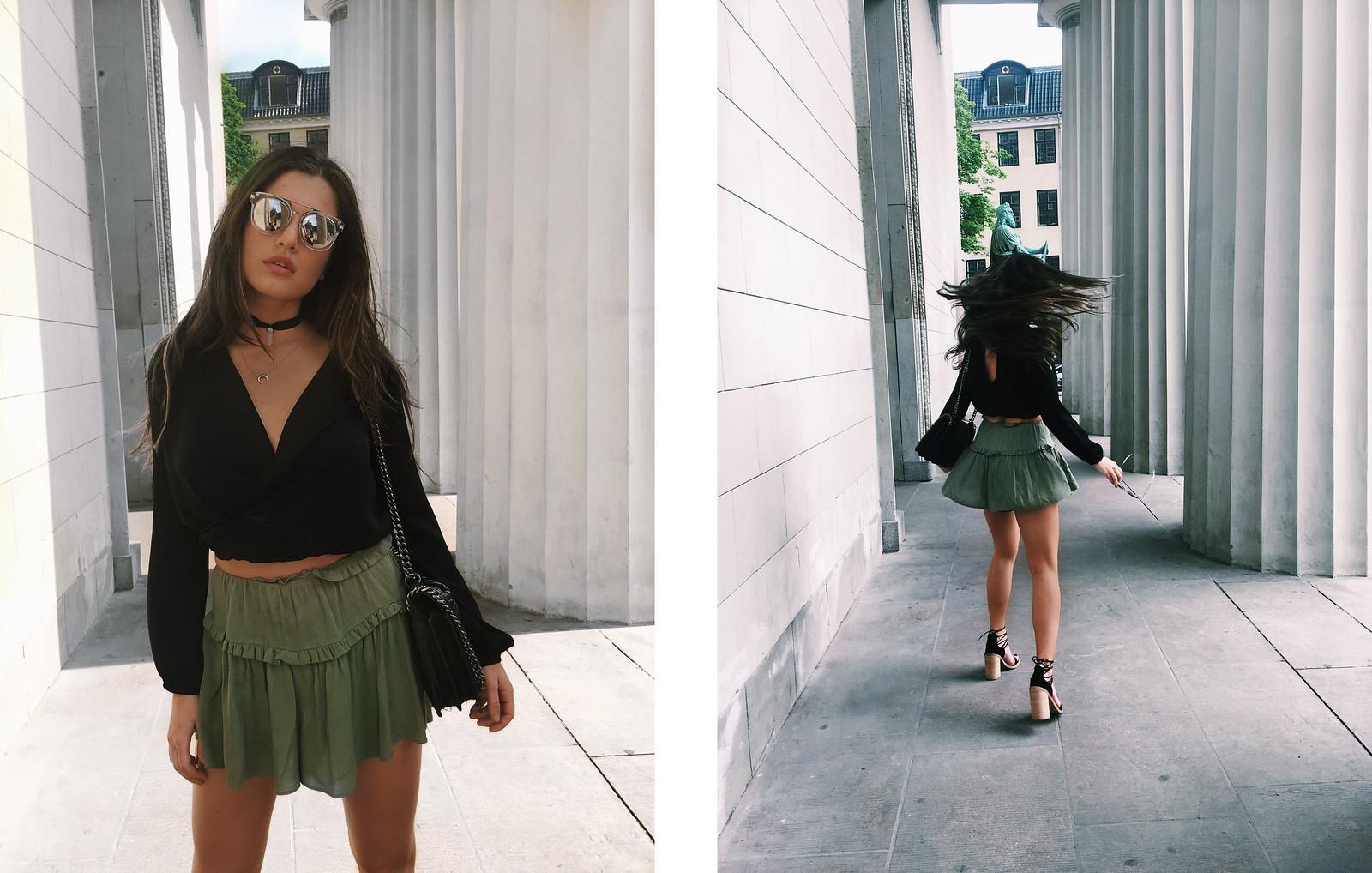 green shorts 4