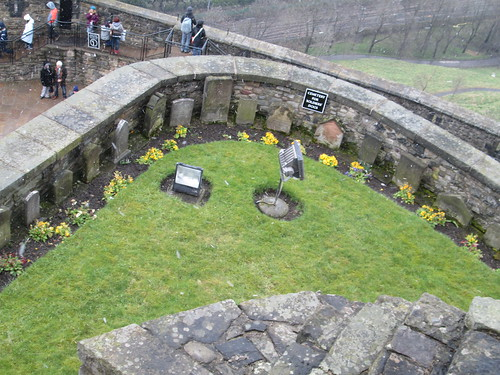 Edinburgh Castle St Margarets Chapel Pet Cemetary
