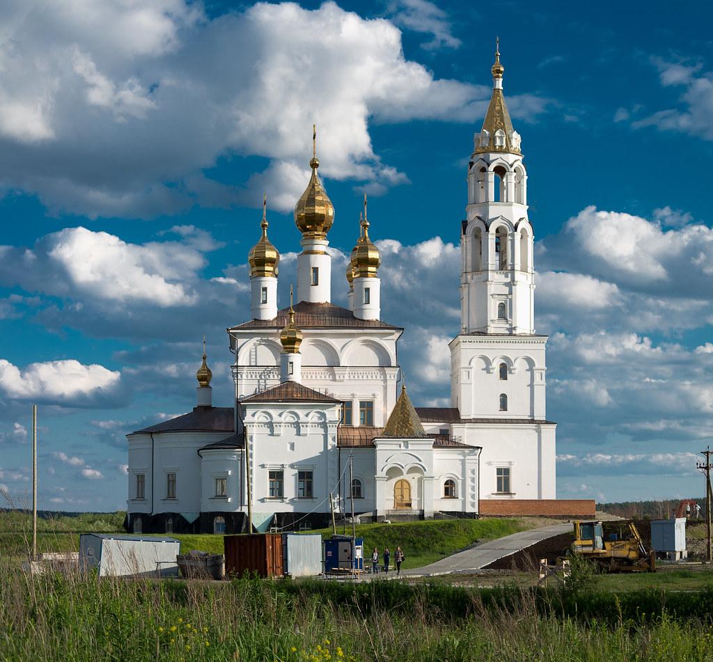 Храм в Академическом