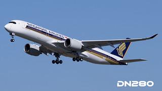 SIngapore A350-941 msn 041