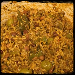 #PuertoRican #Rice w #PigeonPeas #Homemade #CucinaDelloZio - let sit