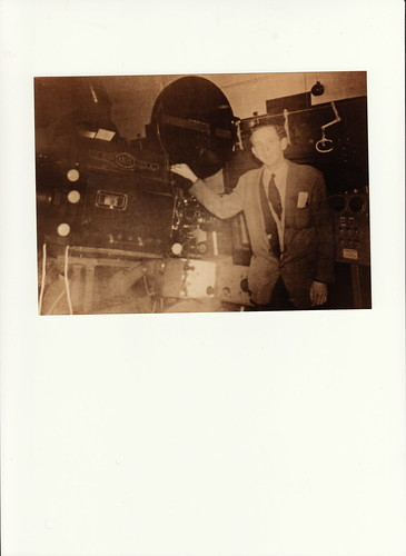 Brian Cubbon - Projectionist