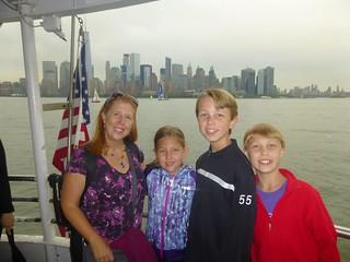 Ferry to Ellis Island