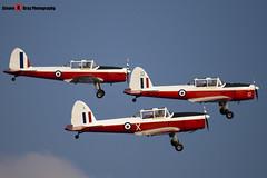 G-BWUT WZ879 X & G-BXCV WP929 & G-BXDI WD373 12 - Private - De Havilland Canada DHC-1 Chipmunk 22 - Duxford - 071014 - Steven Gray - IMG_1631