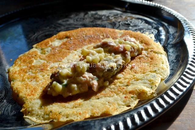 Délices au Fromage Jambon, Lard & Champignons © Ana Luthi Tous droits réservés 14