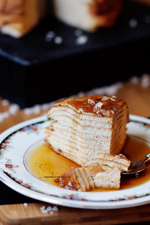 Pancake Cake Salted Caramel