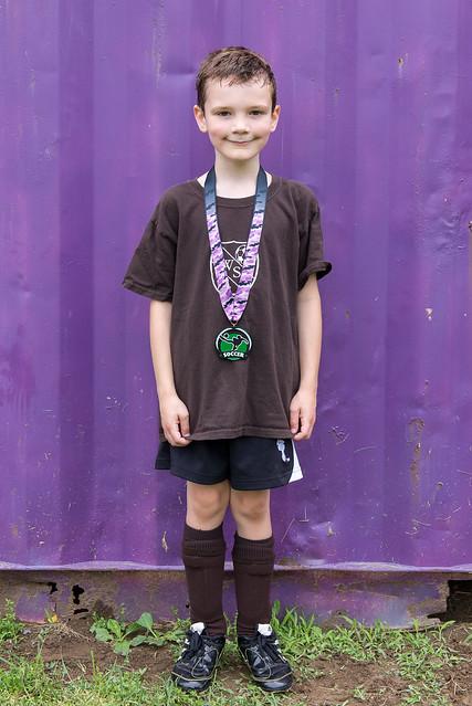 Brandon's U6 Spring Medal