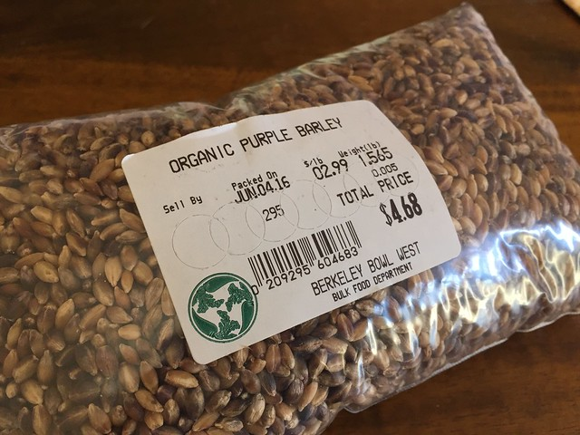 Organic Purple Barley