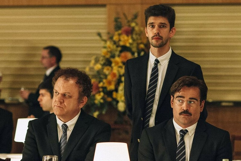 John C. Reilly, Ben Wishaw and Colin Farrell are single men facing terrible choices in THE LOBSTER.