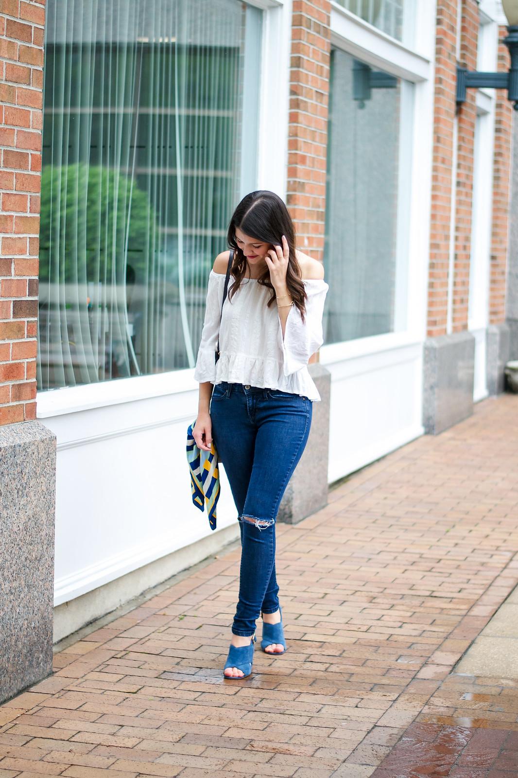 Off The Shoulder Blogger Style