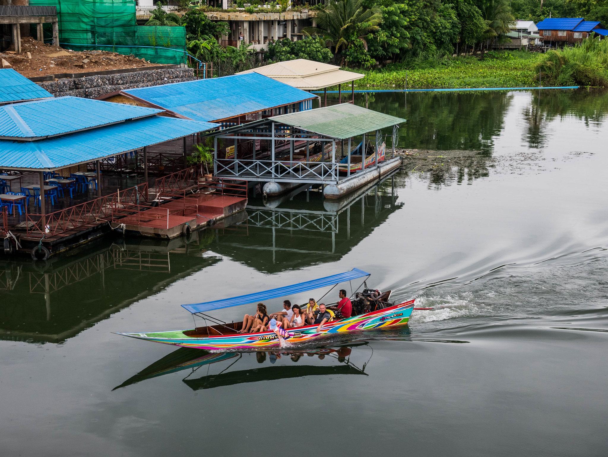 Boat on Kwaï river