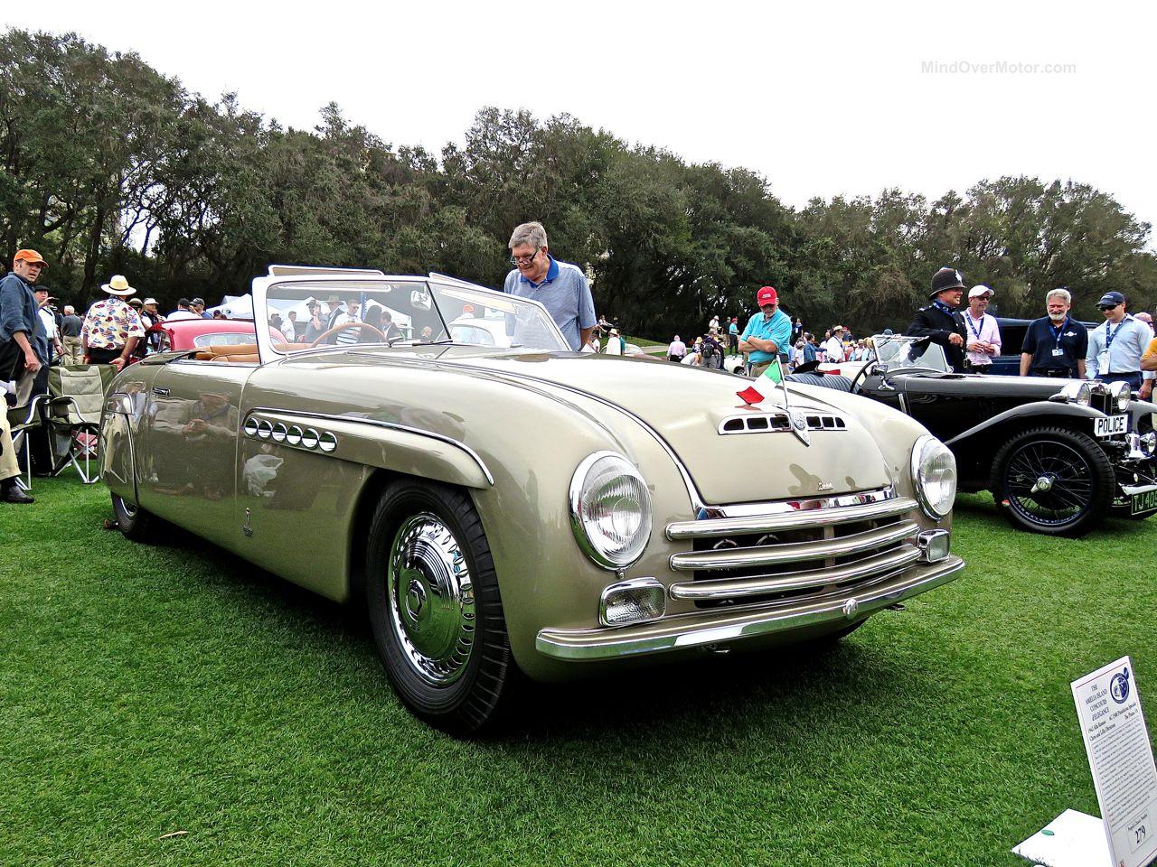 1942 Alfa Romeo 6C 2500 Pininfarina Speciale 2