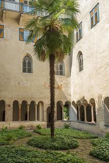 Kreuzgang der Abtei Muri-Gries