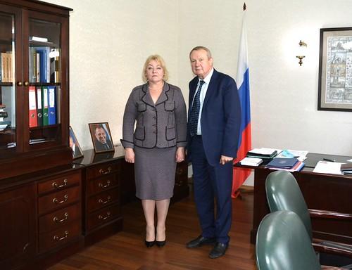 Встреча с Генконсулом Украины в Санкт-Петербурге Л.А. Лозинской