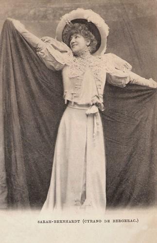 Sarah Bernhardt in Cyrano de Bergerac