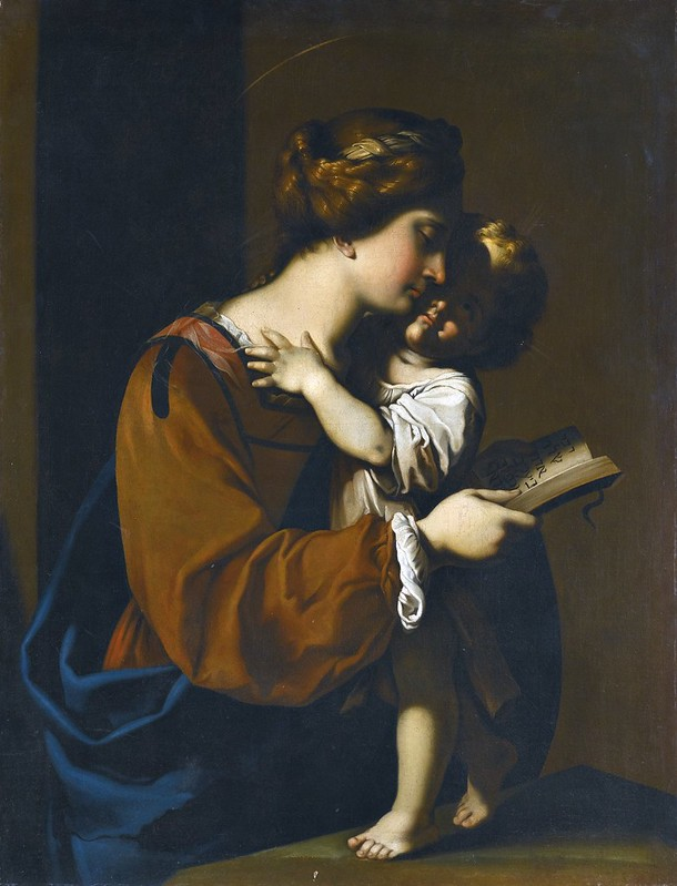 Antiveduto Gramatica - The Madonna and child